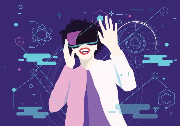 Het verschil tussen virtual reality, augmented Reality en mixed reality